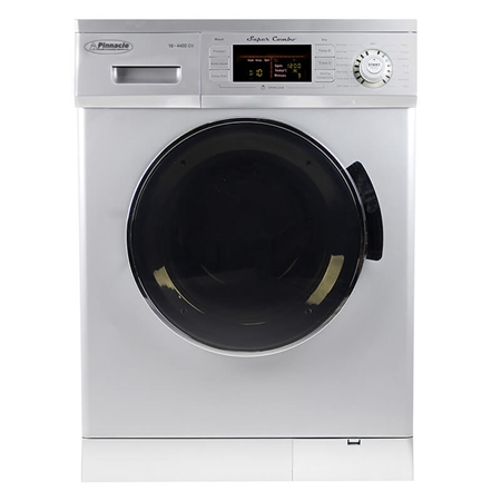 Pinnacle 18-4400S Super Combo RV Washer/Dryer - Silver
