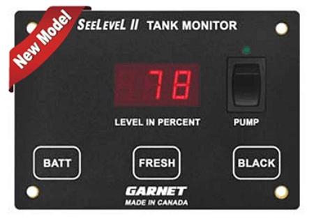 Garnet 709-2P SeeLevel II 2 Tank Monitor - Monitor Only