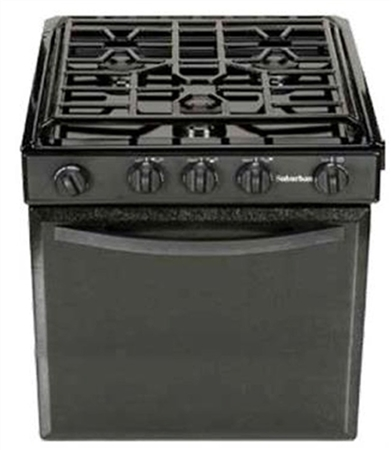 Suburban Manufacturing 3241A RV 22'' Piezo Ignition Sealed 3-Burner Range-Black Questions & Answers