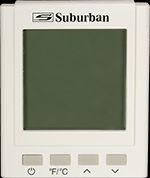 Suburban 162252 Water Heater Control - White