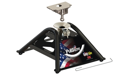 PullRite 2400 SuperLite Four Point Rail Mounted Fifth Wheel Hitch - 20K