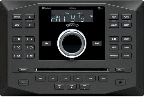 Does the Jensen JWM60A operate on 12 VDC or 120 volt AC?