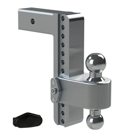 """Weigh Safe LTB10-2.5 Adjustable 180 Trailer Hitch Mount - 2.5"""" Length - 10"""" Drop - 11"""" Rise"""
