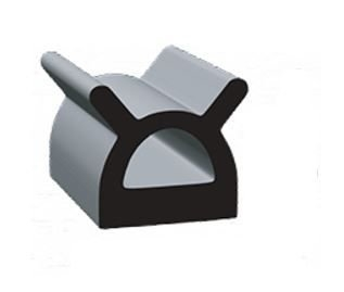 Clean Seal 9187ST-50 0.695'' x 0.56 EDPM D Seal With Heat Activated Tape Questions & Answers