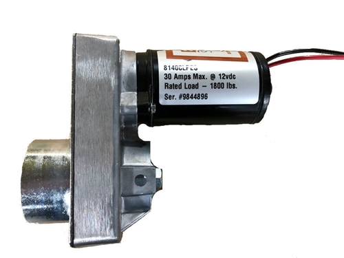 Does this Equalizer Systems 6836 include the electric motor and gearbox?