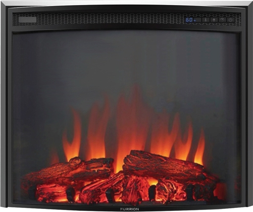 """Furrion FF26C15A-BL Curved Insert Electric Fireplace - 26"""""""