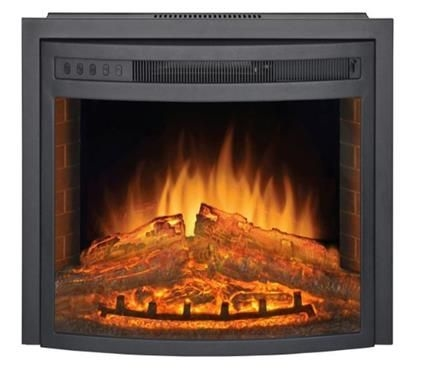 """LaSalle Bristol 42095588 Curved Electric Fireplace Insert - 26"""""""