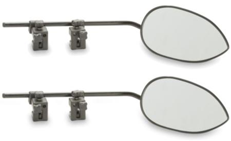 The Dometic Milenco Aero3 clamp-on mirror 2 pack...