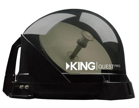 KING Quest Pro VQ4800 Premium RV Satellite Antenna - Smoke Questions & Answers