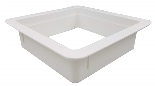 Heng's 90094B Replacement Roof Vent Garnish - White