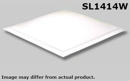 "Specialty Recreation SL1414W Square RV Skylight 14"" x 14"" - White"