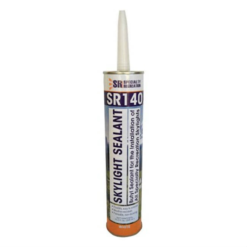 Specialty Recreation SR140 RV Skylight Adhesive Sealant 10.3 Oz - White