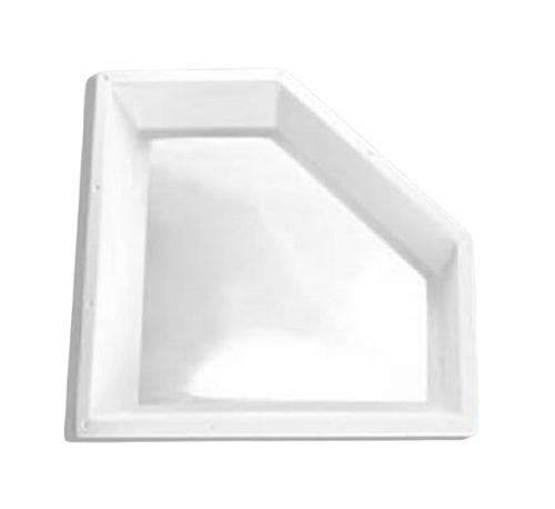 "Specialty Recreation NN2810D Neo-Angle Inner RV Skylight 28"" x 10"" - Clear Bubble"