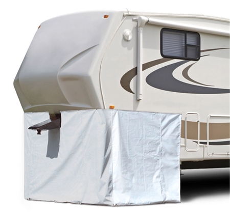 ADCO 3501 Fifth Wheel Storage Skirt - 64'' x 236'' Questions & Answers
