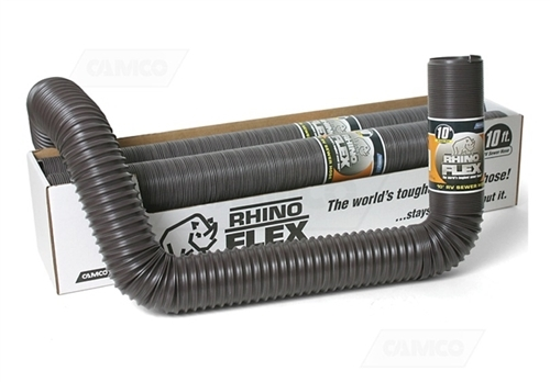 Camco 39681 RhinoFLEX Sewer Hose - 15 Ft Questions & Answers