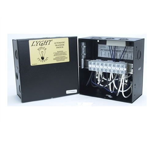 Esco LPT50BRD LYGHT 50 Amp 120/240v Relay Base Transfer Switch Questions & Answers