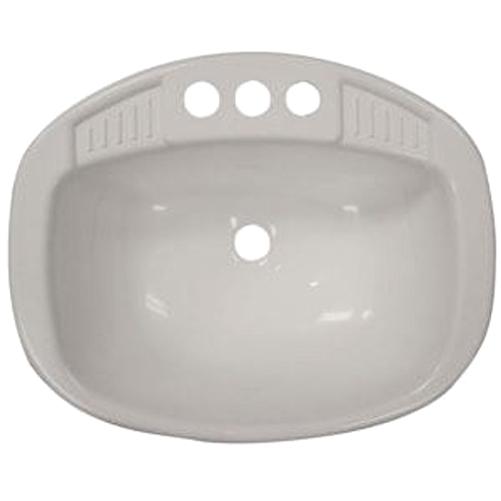 LaSalle Bristol 16270PWA Single RV Bathroom Sink - 16'' x 20'' - White Questions & Answers