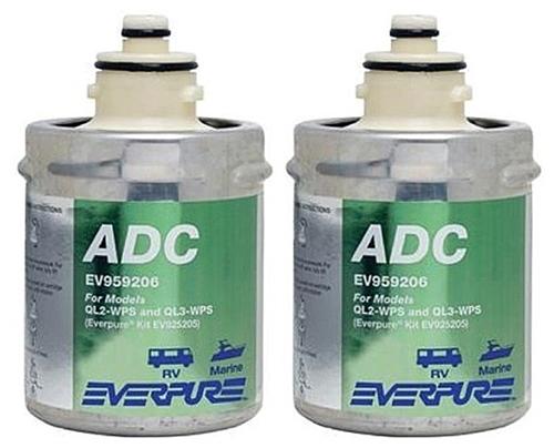Shurflo Everpure EV959207 ADC Quick Change Part-Timer Cartridges Questions & Answers