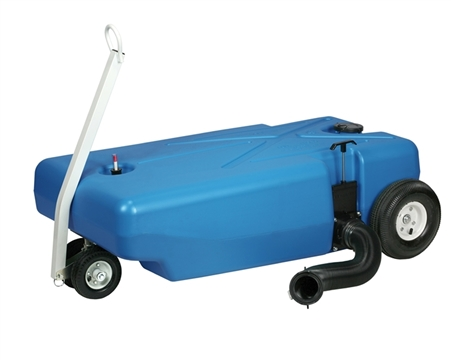 Barker 30844 42 Gallon Tote Along Portable Holding Tank