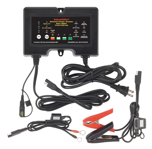 BatteryMINDer 128CEC1 12V 8 Amp Battery Charger/Maintainer/Desulfator Questions & Answers