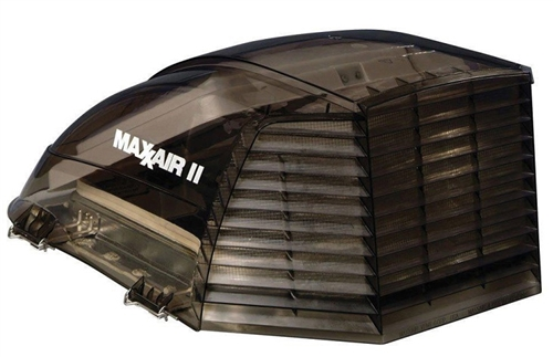 MaxxAir II 00-933073 RV Roof Vent Cover - Smoke Questions & Answers