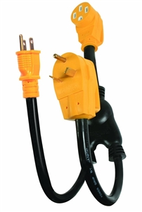 Can i plug the 55025 power grip power maximizer adapter into 2 different generators?