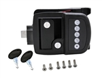Bauer 013-509 NE Electric Trailer Keyless Door Lock - Right Hand