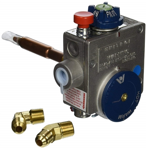 What is the red knob for on this control valve?