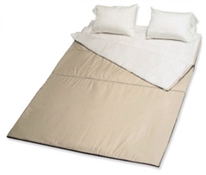 Do the sheets attach inside with Velcro to hold them in place?