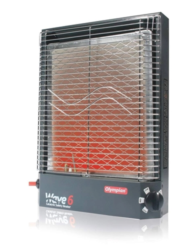 Camco 57341 Olympian Wave-6 Catalytic Heater Questions & Answers