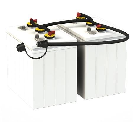 Flow-Rite RV-2000 Pro-Fill RV Battery Watering System for 6V Batteries