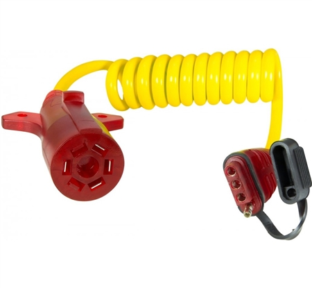 Hopkins Towing Solutions 47015 Nite-Glow Flexcoil 7-Blade to 4-Flat Adapter Questions & Answers