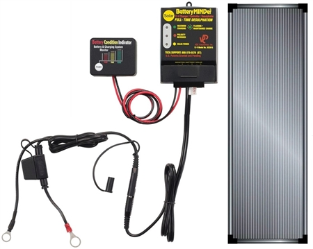 BatteryMINDer SCC-515-15W Solar Charger Controller 12 Volt with 15 Watt Panel Questions & Answers