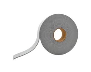 """AP Products 018-141125 Grey Mylar Backed PVC Foam Tape - 1/4"""" x 1 1/2"""" x 30'"""