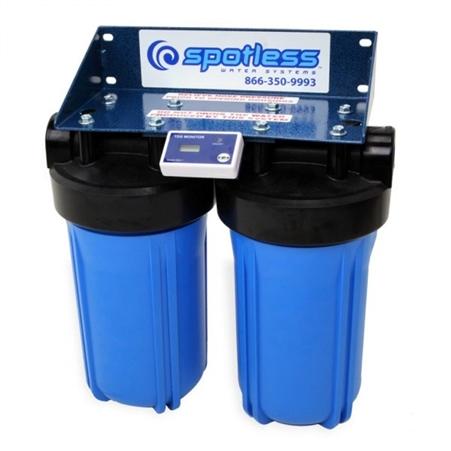 How do I store the CR Spotless DIW-10 Medium Capacity De-Ionizer system for winter?