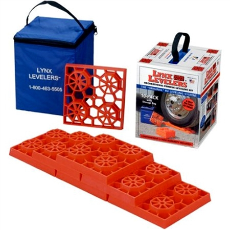 Tri-Lynx 00015D Interlocking Lynx Levelers With Storage Bag - 10 Pack Questions & Answers