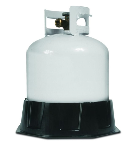 Camco 57236 Stabilizing Base For 20-30 Lb Propane Cylinders Questions & Answers