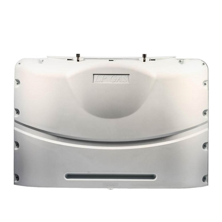 Camco 40523 Heavy Duty RV Propane Tank Cover - Polar White - 20 Lbs Questions & Answers