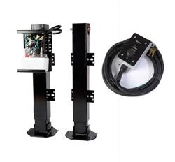 Bigfoot SQI24-2PTS Hydraulic Trailer Dual Point Single Pump Jack Landing Gear System