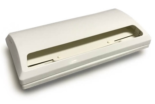 Heng's J116AWH-CN Stove Vent Hood Exhaust Cover - Polar White