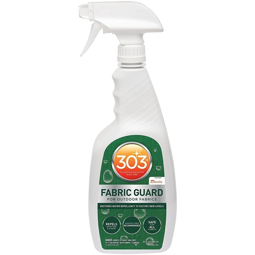 I need to waterproof a backpack which 303 fabric guard should I use