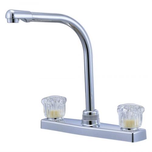 Relaqua AK-8201SH-1W High Spout Kitchen Faucet, White