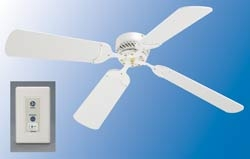 LaSalle Bristol 410NDC1242WWH White 12 Volt RV Ceiling Fan Questions & Answers