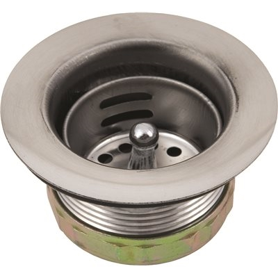 "Will this strainer assembly match up with the CAMCO 37420 RV flesible camper drain, which says it's 1 1/2""-11.5?"