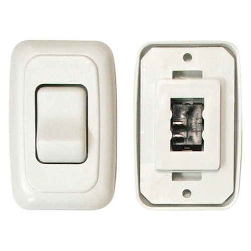 Valterra DG3101VP Single Contoured On/Off Switch - White Questions & Answers