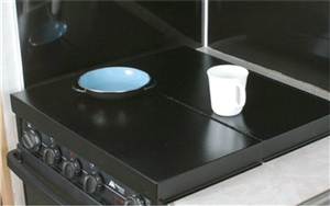 Camco 43554 Stove Top Cover - Black Questions & Answers