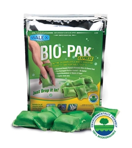 Is walex Bio Pak works in 500000 ltr drainage Well? if yes how many required to it works? How The effect of this ri