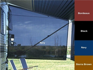 Carefree Of Colorado 88008402 SideBlocker Awning Sun Shade - Navy - 6' x 8' Questions & Answers