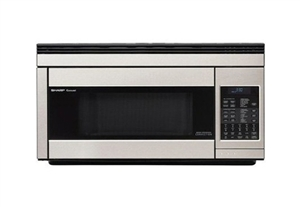 Sharp R1874 Over-The-Range Stainless Steel Convection Microwave