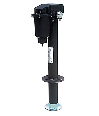 When retracted what is the measurement from mounting plate to foot of tongue jack?